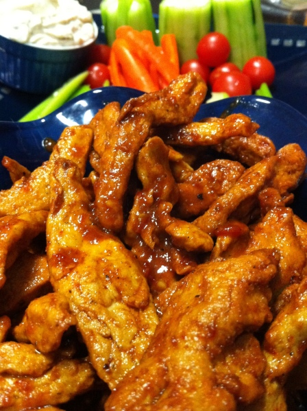 Spicy Buffalo Strips