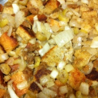 Stuffing With Field Roast Apple Sage Sausage