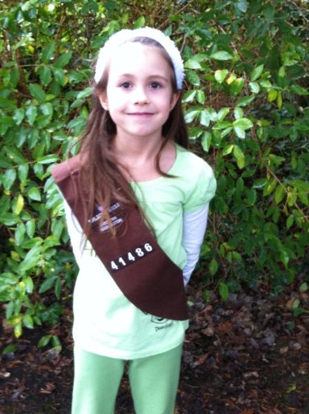 anzia the girlscout