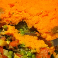 Curried Tempeh Sweet Potato Shepherd's Pie