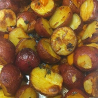Roasted Potatoes Cajun Style