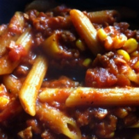 Chorizo Noodle Kaboodle