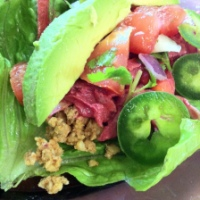 Raw Walnut and Sunflower Tacos