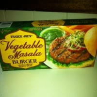 Trader Joe's Masala Burger