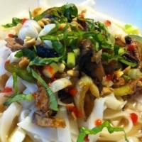Mom's Pad Thai Noodle Dish