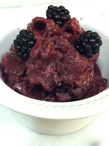 #2 Blackberry Blender Ice Cream