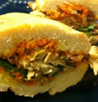 complete masala chick's sandwich