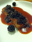 riblet w: blackberry maple ancho sauce