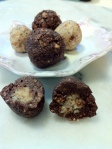 Truffles using coconut nectar