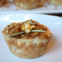 Chopped Vegan Challenge: Popcorn, Apricot, and Rosemary Biscuit Cups with Butternut Squash Creme Brulee