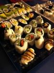 Lots of Veggie Sushi
