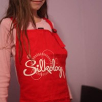 12 Days - Day 6 - Silk(ology) Apron Re-gift