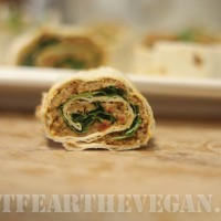 12 Days: Day 7 Italian Sausage Hummus Wrap and Tofurky