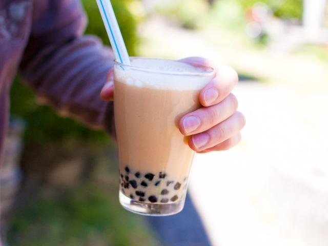Lychee Bebble Tea via Fo Reals Life