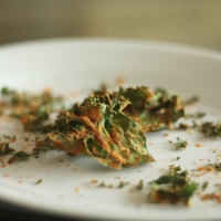 Vegan Mofo, Day 6: Pizza Kale Chips