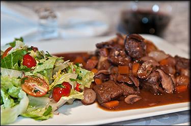 Vegan Boeuf Bourguignon by Chez Bettay