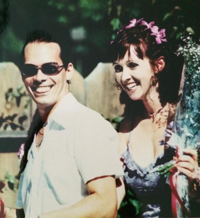 Our wedding day! July 15, 2000