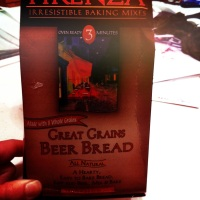 Vegan Mofo Day 18: Beer Bread and Mushroom, Potato, and Green Bean Soup