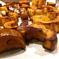 Roasted Delicata and Honeynut Squash
